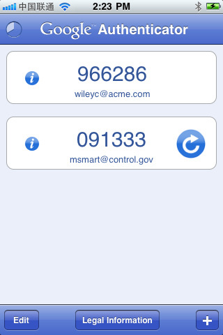 谷歌验证:Google Authenticator