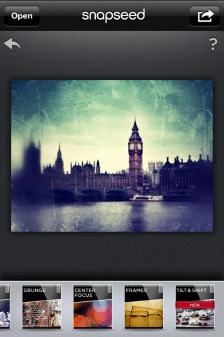 Snapseed:图片编辑工具