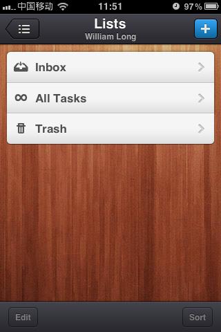 Wunderkit:任务清单应用