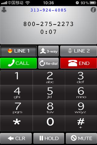 Whistle Phone:免费美国电话