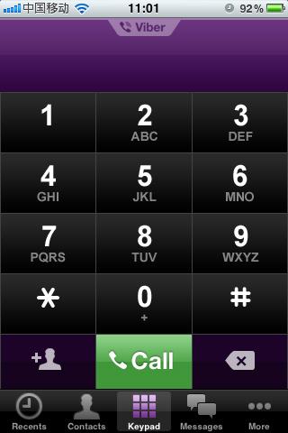 Viber:免费网络电话