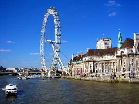 英国伦敦眼摩天轮