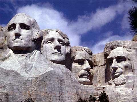 南达科他州总统山