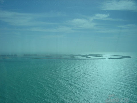 阿联酋迪拜人造天堂-棕榈岛