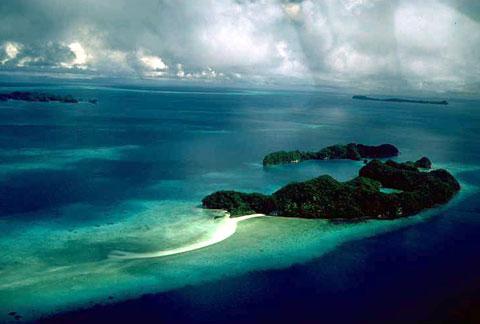 澳大利亚大堡礁-谷歌地图观察