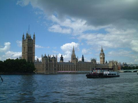 英国伦敦议会大厦