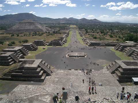 墨西哥特奥蒂瓦坎古城