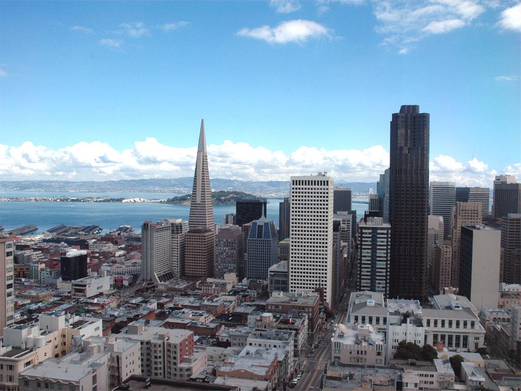 美国旧金山泛美金字塔大厦-谷歌地图观察