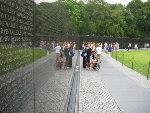 美国越战纪念墙