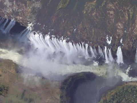 津巴布韦维多利亚瀑布