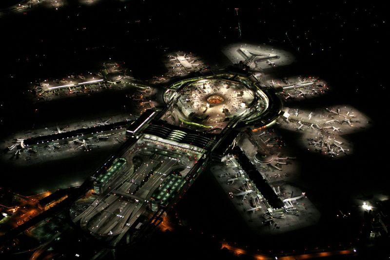 美国旧金山国际机场-谷歌地图观察