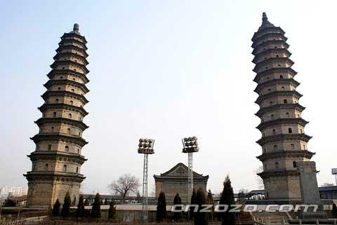 太原双塔寺