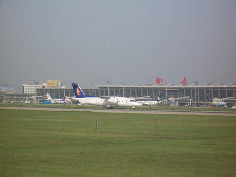 西安咸阳机场-谷歌地图观察