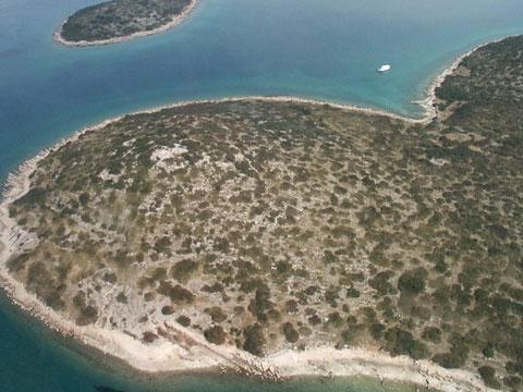 克罗地亚心形小岛