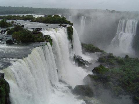 阿根廷伊瓜苏大瀑布