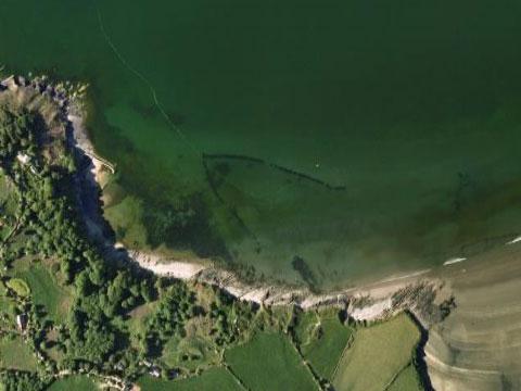 英国威尔士千年前捕鱼场