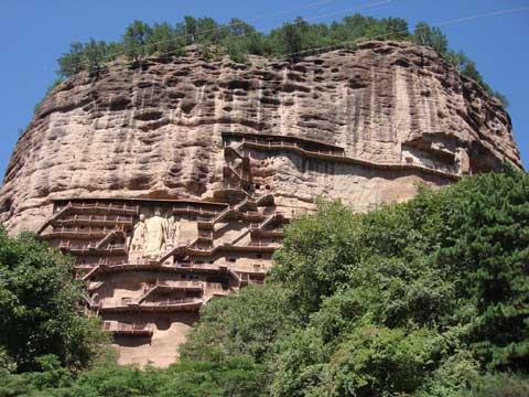 麦积山石窟