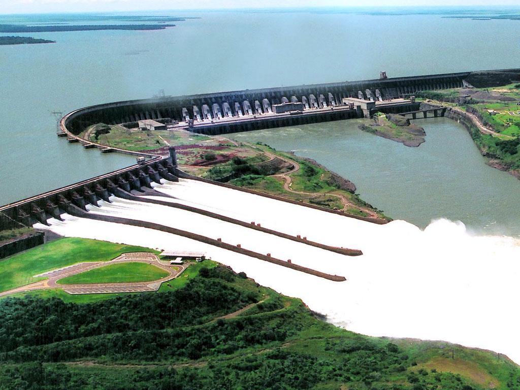 巴拉圭历史地图_巴西伊泰普大坝-谷歌地图观察