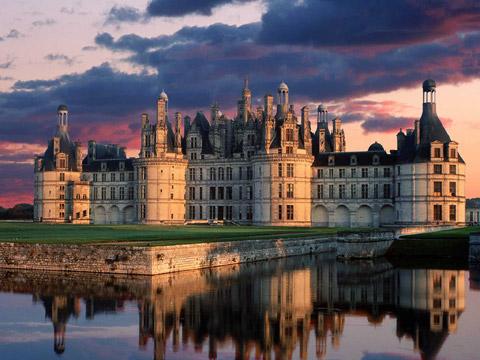 法国卢瓦尔河香波城堡