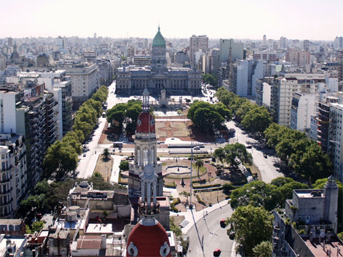 阿根廷布宜诺斯艾利斯国会广场
