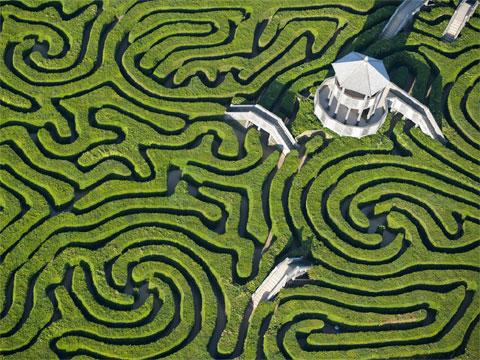 英国朗利特树篱迷宫