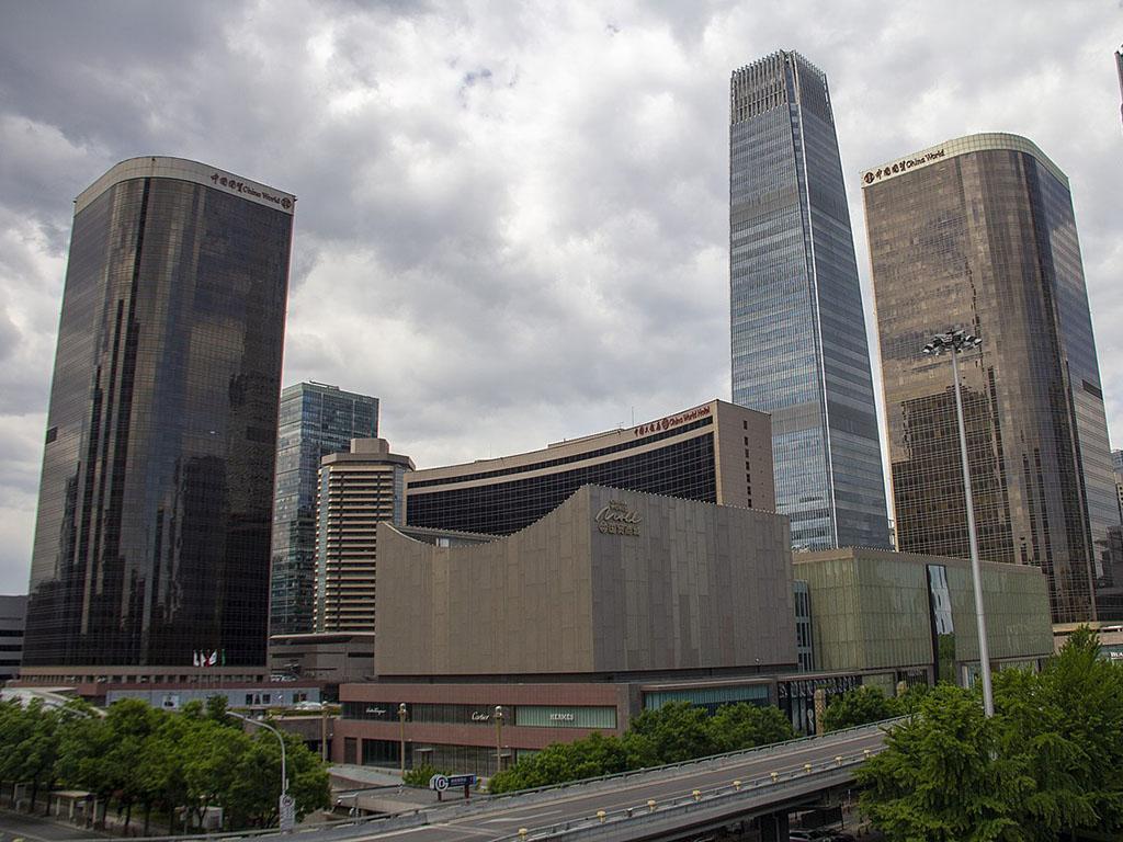 北京国贸三期-谷歌地图观察