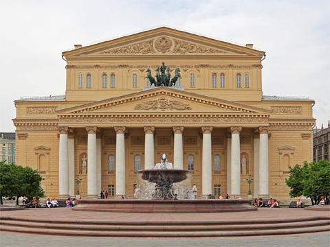 俄国莫斯科大剧院
