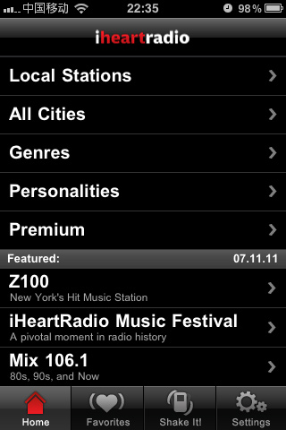 iheartradio:免费收音机