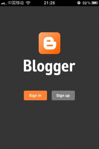 Blogger:谷歌博客托管服务