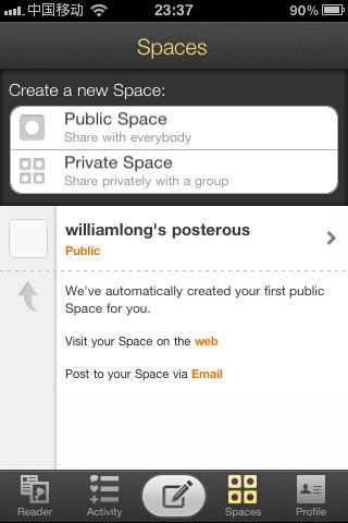 Posterous:邮件博客平台
