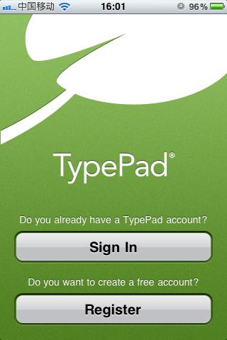 TypePad:商业博客平台
