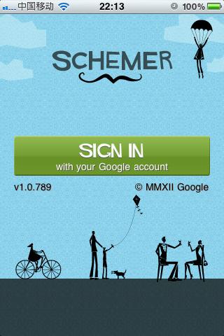 Schemer:谷歌活动推荐引擎