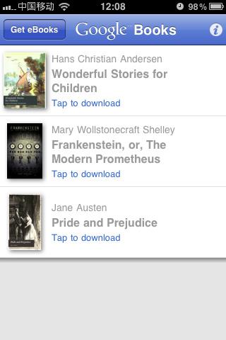 Google Books:谷歌图书移动版
