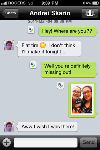 Kik:跨平台短信聊天