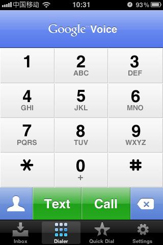 Google Voice:免费互联网电话