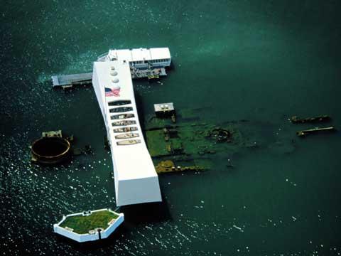 夏威夷州亚利桑那军舰纪念馆