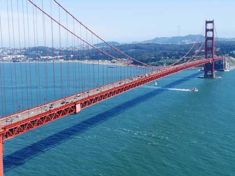 美国旧金山:金门大桥