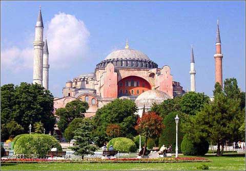 土耳其伊斯坦布尔圣索菲亚