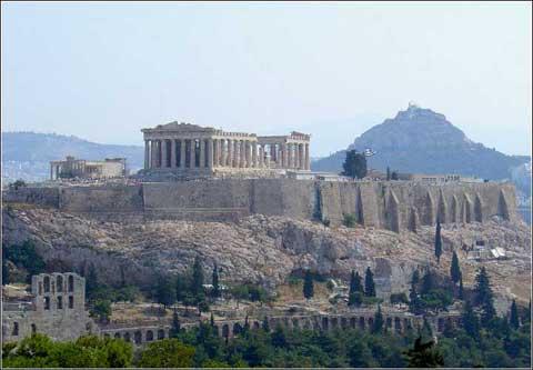 希腊雅典卫城