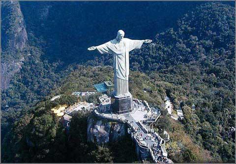 巴西里约热内卢救世主耶稣雕像