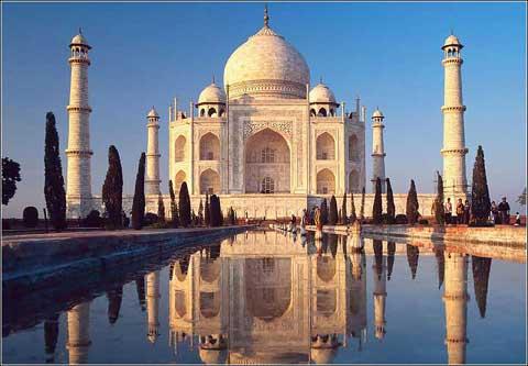 印度亚格拉的泰姬陵