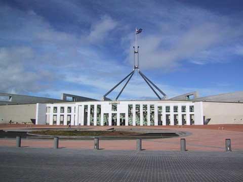 澳大利亚堪培拉国会大厦