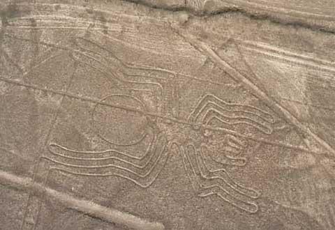秘鲁纳斯卡荒原图案之谜