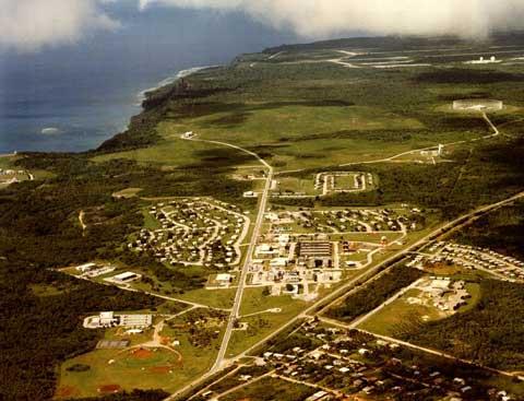美国关岛空军军事基地