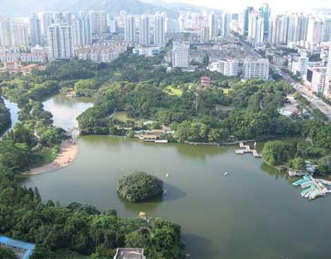 深圳免费旅游景点和公园地标