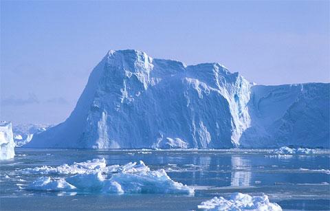 格陵兰岛上的奇怪黑线