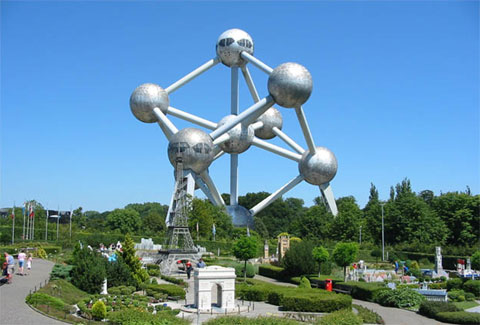 比利时布鲁塞尔原子塔