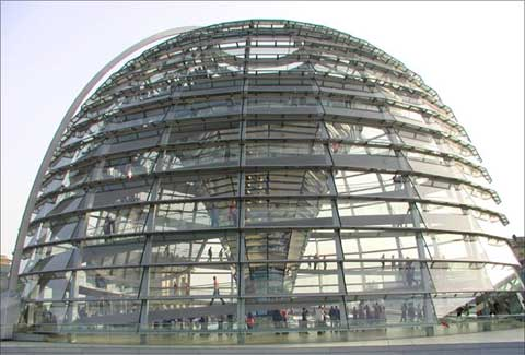 德国国会大厦的圆顶