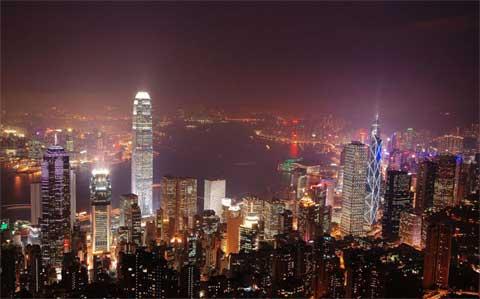 Google Eath的香港3D模型扩展