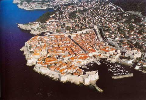 克罗地亚中古城